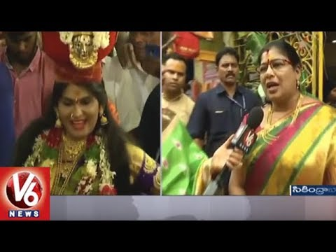 Bonalu Festival: Devotees Throng To Sri Ujjaini Mahankali Temple | Secunderabad | V6 News