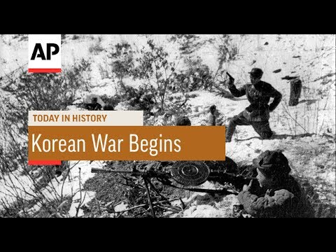 Korean War Begins - 1950 | Today In History | 25 June 17 - YouTube