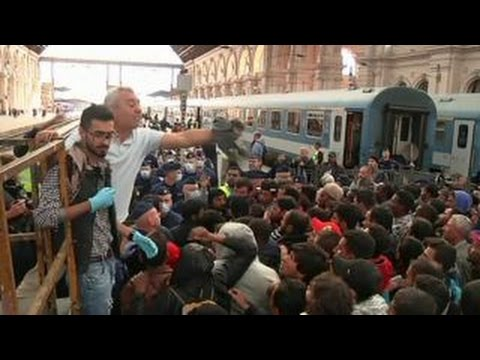 For Europe, migrants a political crisis, not economic