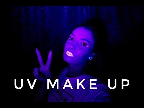 NEON UV MAKE UP