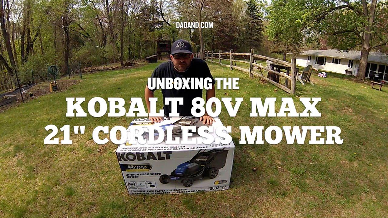 Kobalt 80V Max Cordless Electric Outdoor Power Equipment