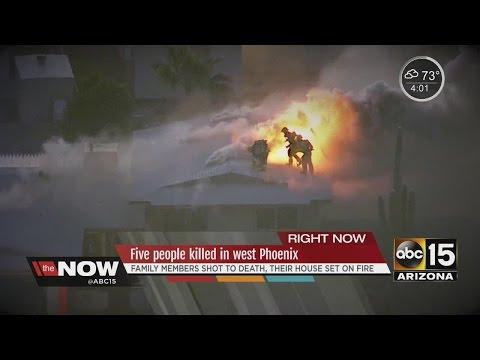 Five people killed in west Phoenix