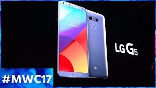 Nous avons mis les mains sur le tout nouveau LG G6 !