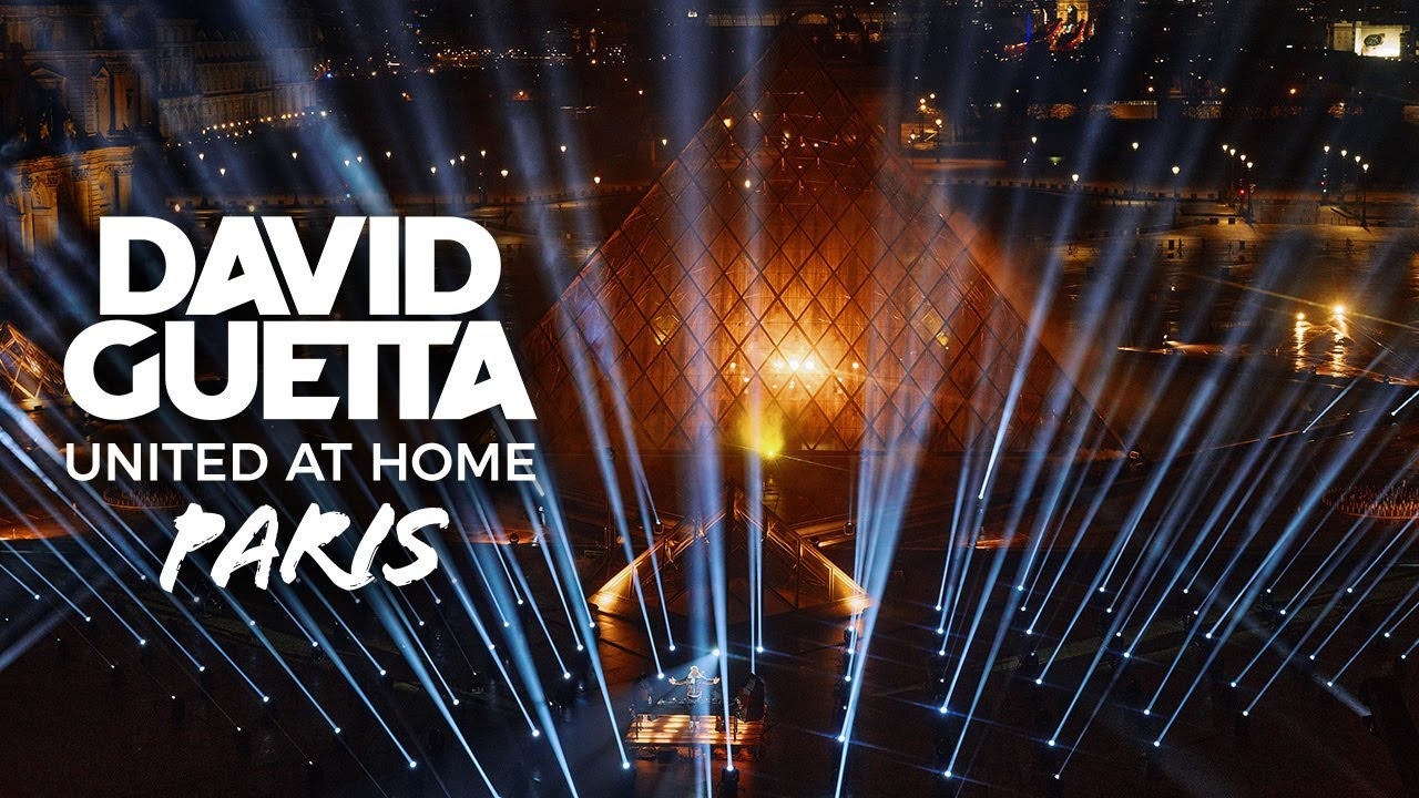 Download David Guetta | United at Home - Paris Edition from the Louvre