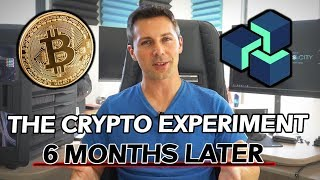 The Crypto Currency EXPERIMENT - How Much Money Did I Make in 6 Months?