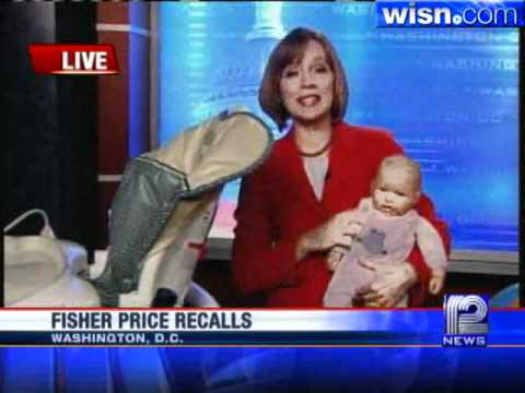 Fisher-Price Recalls More Than 10 Million Kid Products