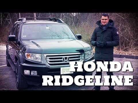2013 Honda Ridgeline (Хонда Риджлайн) 1го поколения - удобный пикап для активного образа жизни