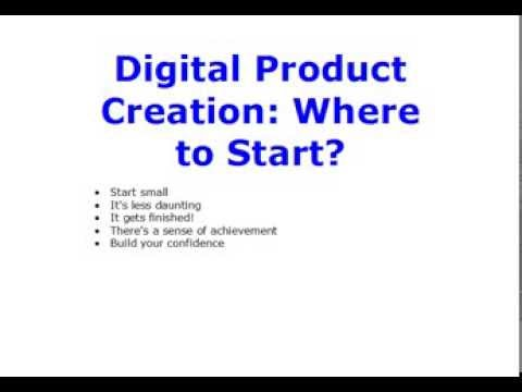 Digital Product Creation: Where to Start?