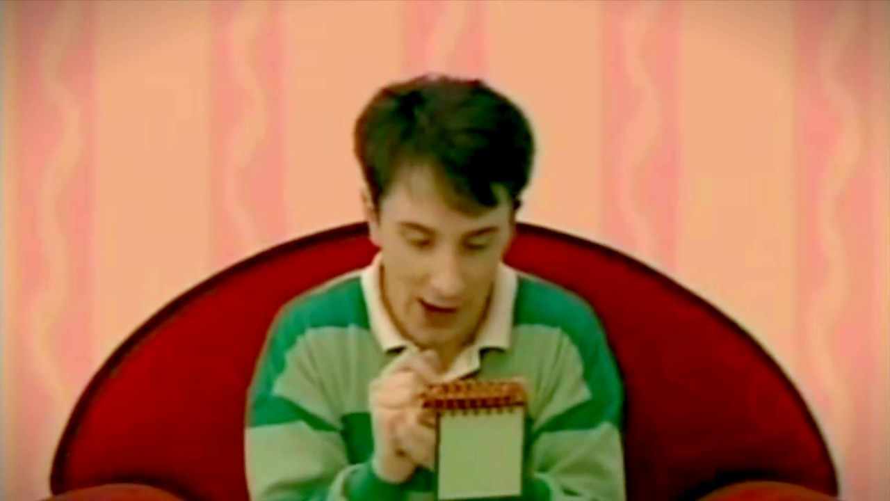 theories on blue s clues With his laid-back delivery, sweet baby face, and green-striped rugby shirt, steve burns from blue's clues was the first tv host many of us grew up watching but wh.