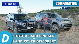 4x4 Review ¡beyond the limit!: Toyota Land Cruiser vs Land Rover Discovery | offroad Test