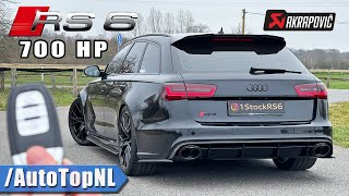 700HP AUDI RS6 C7 REVIEW on AUTOBAHN [NO SPEED LIMIT] by AutoTopNL