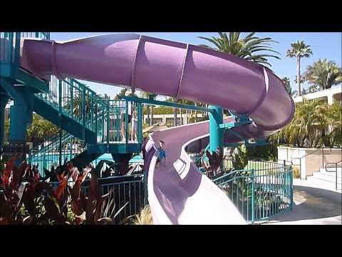 Hyatt Regency Newport Beach Water Slide Is Visited By LAwithKids.com
