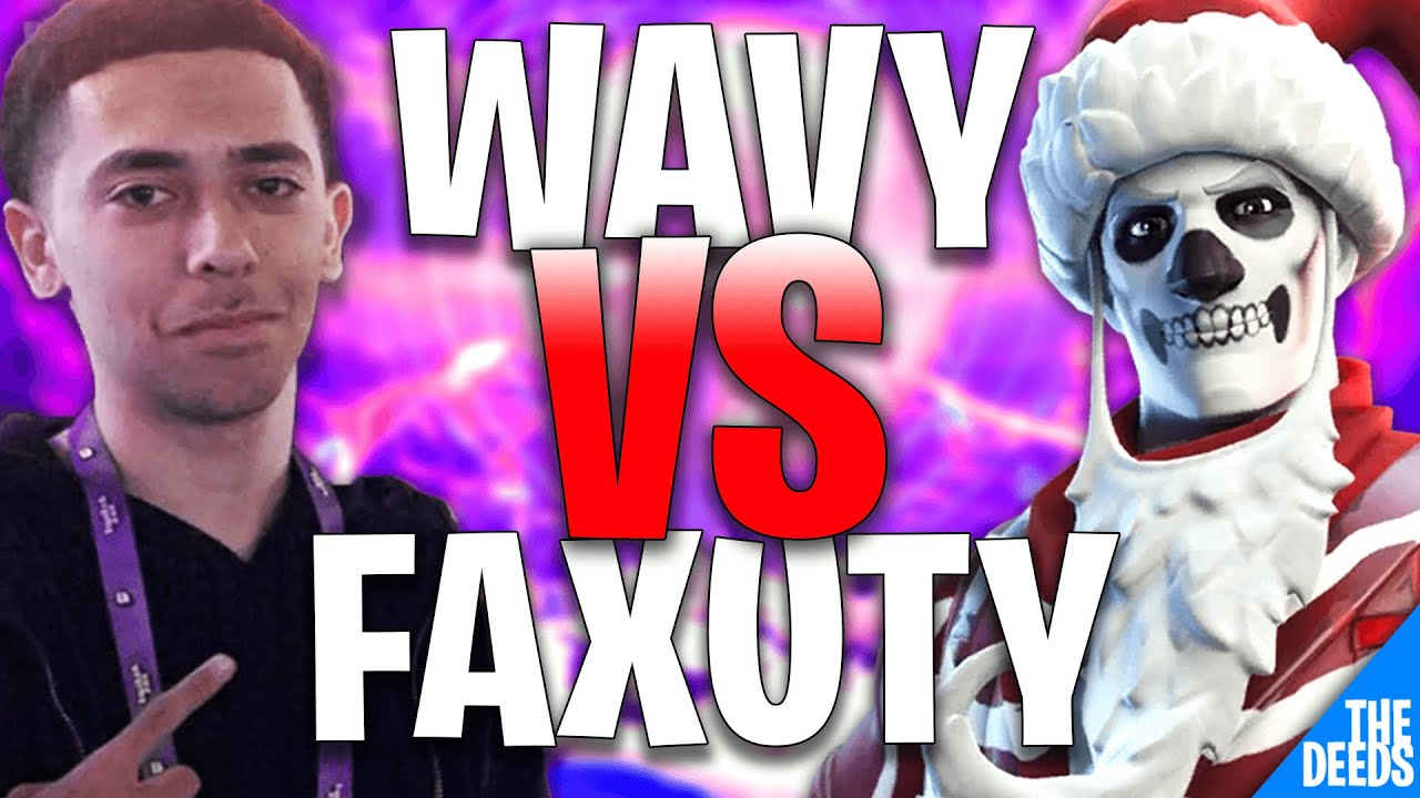 Wavyjacob 1 VS 1 Faxuty - 1st Place in Solo Cash Cup (BEST NAW CONTROLLER PLAYER) | Creative 1v1