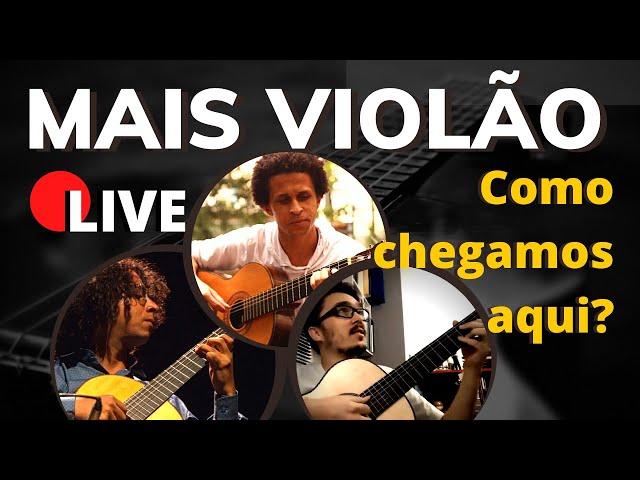 🔴 Mais Violão Para Você - Live com Mateus, Rafa e Anderson