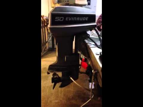 1981 50 Hp Evinrude For Sale