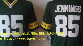 Green Bay Packers 85 Greg Jennings Cheap NFL Jerseys China From buynfl.ru Only $23 Wholesale Price
