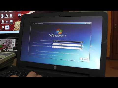 HP TPN-C125 Установка Windows 7 если не работают USB