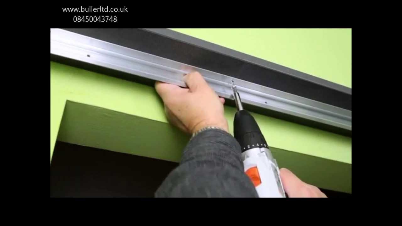 Saturn Sliding Door gear for single door top hung installation tutorial & Saturn Sliding Door gear for single door top hung installation ...