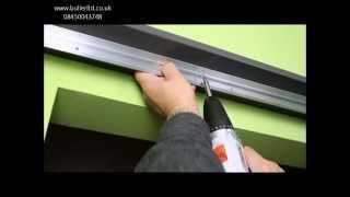 Repeat youtube video Saturn Sliding Door gear for single door top hung installation tutorial