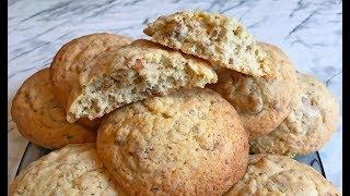 Печенье с Орехами / Ореховое Печенье / Homemade Cookies with Nuts / Простой Рецепт