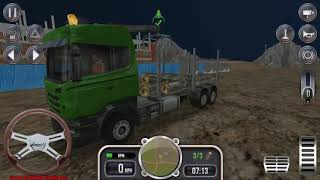 Construction Sim 2018 - Cement Truck | Logs Truck Missions Android GamePlay FHD