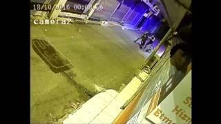 Gaziantep'te Gasp Olayı Mobese Kameralarına Takıldı