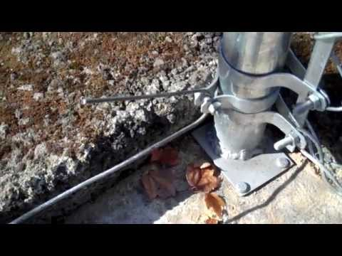 How To Install Tension Wire On A Chain Link Fence Youtube