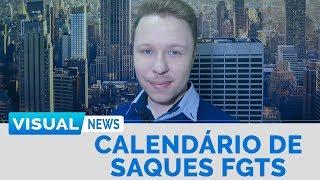CALENDÁRIO DE SAQUES FGTS | Visual News