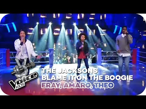 The Jacksons  Blame It On the Boogie Eray, Amaro, Theo  Battles   The Voice Kids 2016