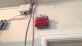 Unimode (ADT) 9050UD Addressable Fire Alarm System Test 13