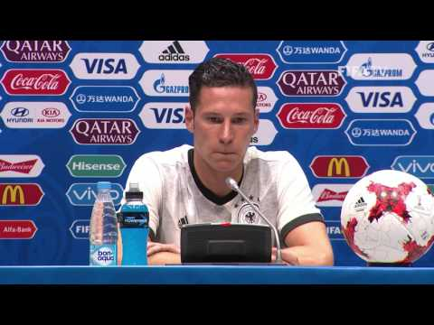 AUS v. GER -  Julian DRAXLER -  Germany Post-Match Press Conference