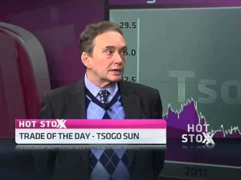 Tsogo Sun – Today's stock pick within the hotel and gambling sector