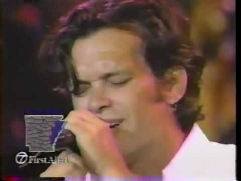 John Mellencamp.  Check it out .  Live in Indianapolis on July 4, 1992.