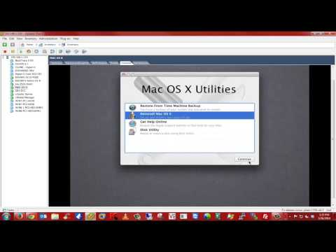 How to Unlock ESXi Host and install MAC OS X Lion