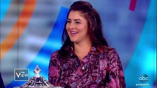 US Open Winner Bianca Andreescu on Defeating Serena Williams | The View
