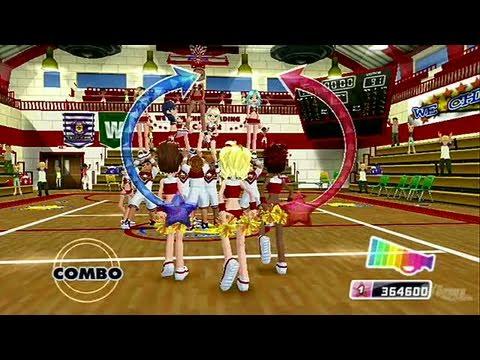 We Cheer 2 Nintendo Wii Gameplay - Squad Challenge