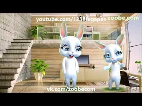 Zoobe Зайка и ее друзья, уникальный сборник, смотреть всем! Такое только у нас - Лучшие видео поздравления в ютубе (в высоком качестве)!