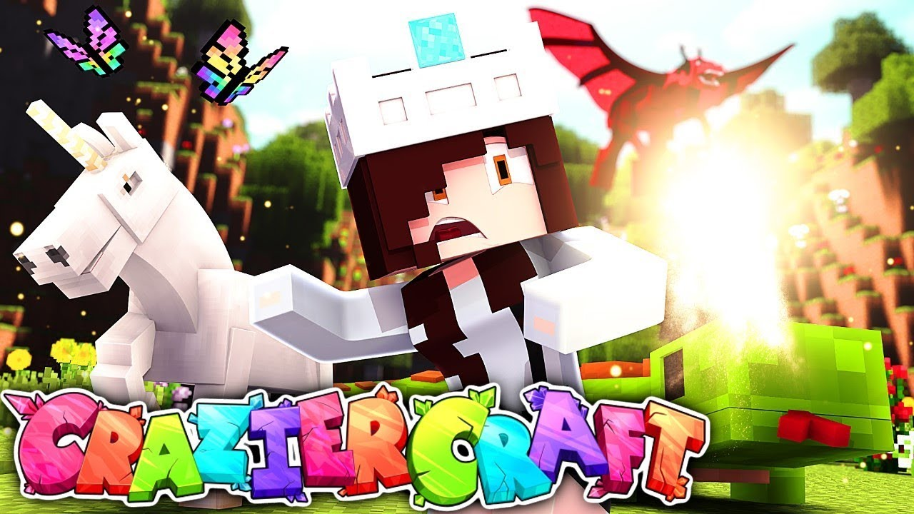 Download THEY TRIED TO STEAL MY HOUSE ON MY FIRST DAY   CrazierCraft #1