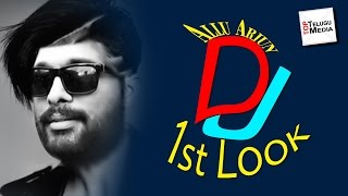 Allu arjun's dj duvvada jagannadham first look photos leaked | dj  ఫస్ట్ లుక్ లీక్ |toptelugumedia