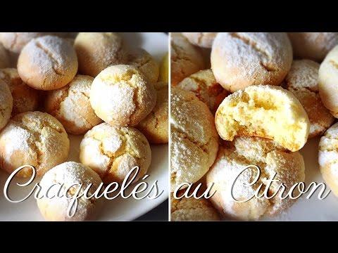 ❥ Craquelés Au Citron.