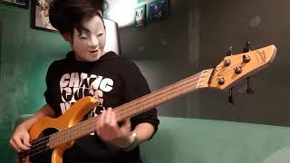 BAND-MAIKO - secret MAIKO lips Bass Cover (TAB available)