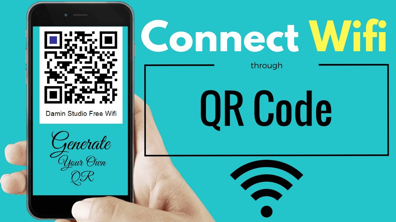 How To Connect WiFi through QR Code | Generate Your Own QR Code for Wifi -  Urdu HIndi