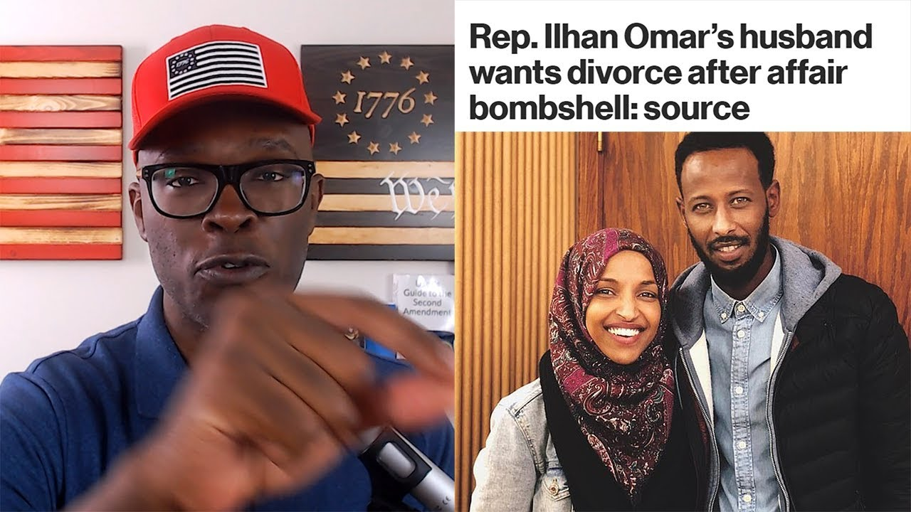 ABL Ilhan Omar's HUSBAND Allegedly Wants A DIVORCE! Here's Why