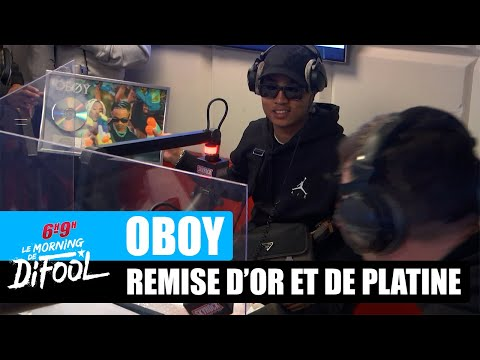 Youtube: Oboy – Remise du disque d'or et de platine #MorningDeDifool