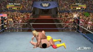 WWE: Legends of WrestleMania - Hulk Hogan vs Andre the Giant (HD 720p)