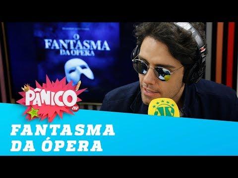 """Thiago Arancam REVELA como é preparação para """"Fantasma da Ópera"""""""
