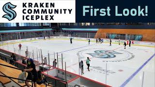 Kraken Community Iceplex Tour - Seattle Kraken Practice Facility