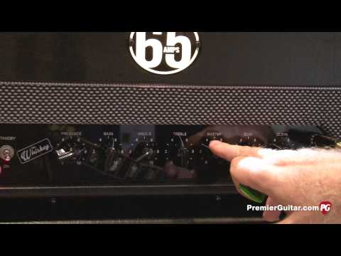 NAMM '14 - 65Amps Whiskey and Producer84 Demos