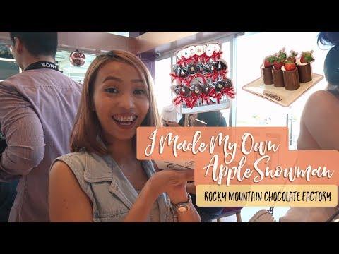 An Apple Snowman?! + Rocky Mountain Chocolate Factory