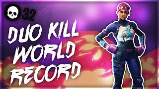 32 Kills In A Duos Game WORLD RECORD Gameplay   Top Console Fortnite Player